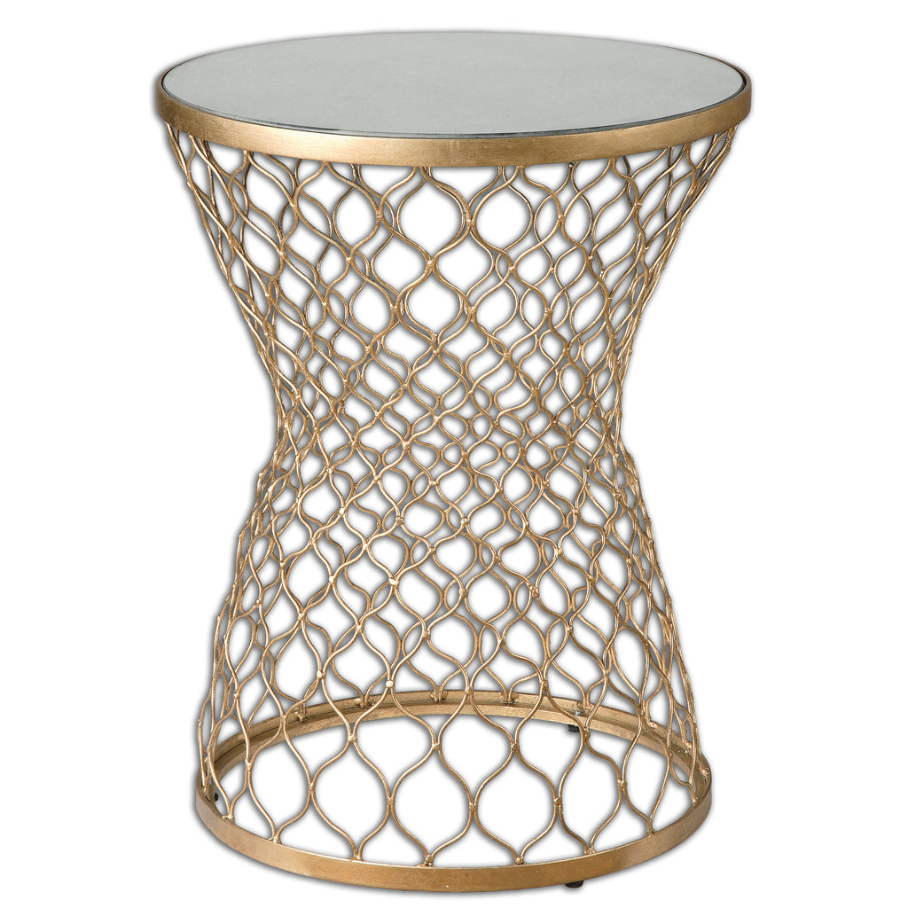 Naeva Gold End Table