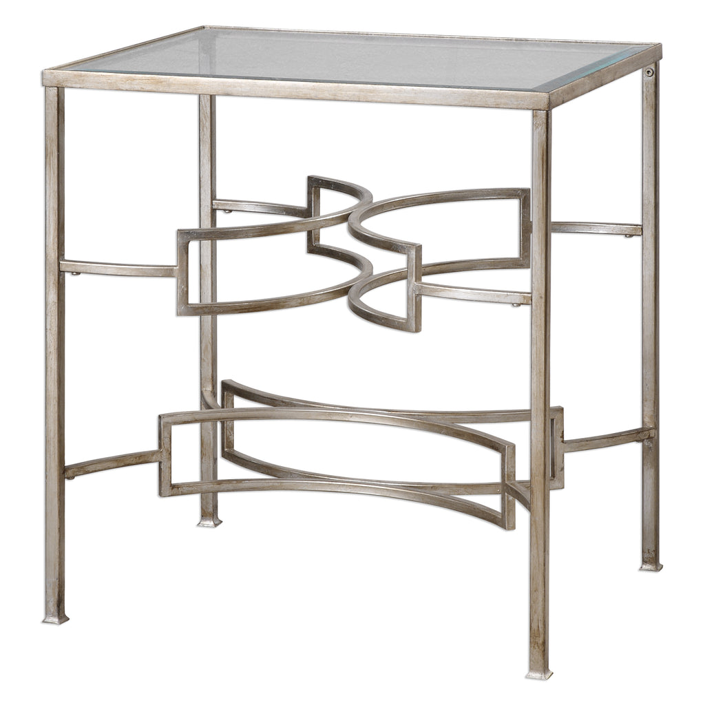 Eilinora Silver End Table