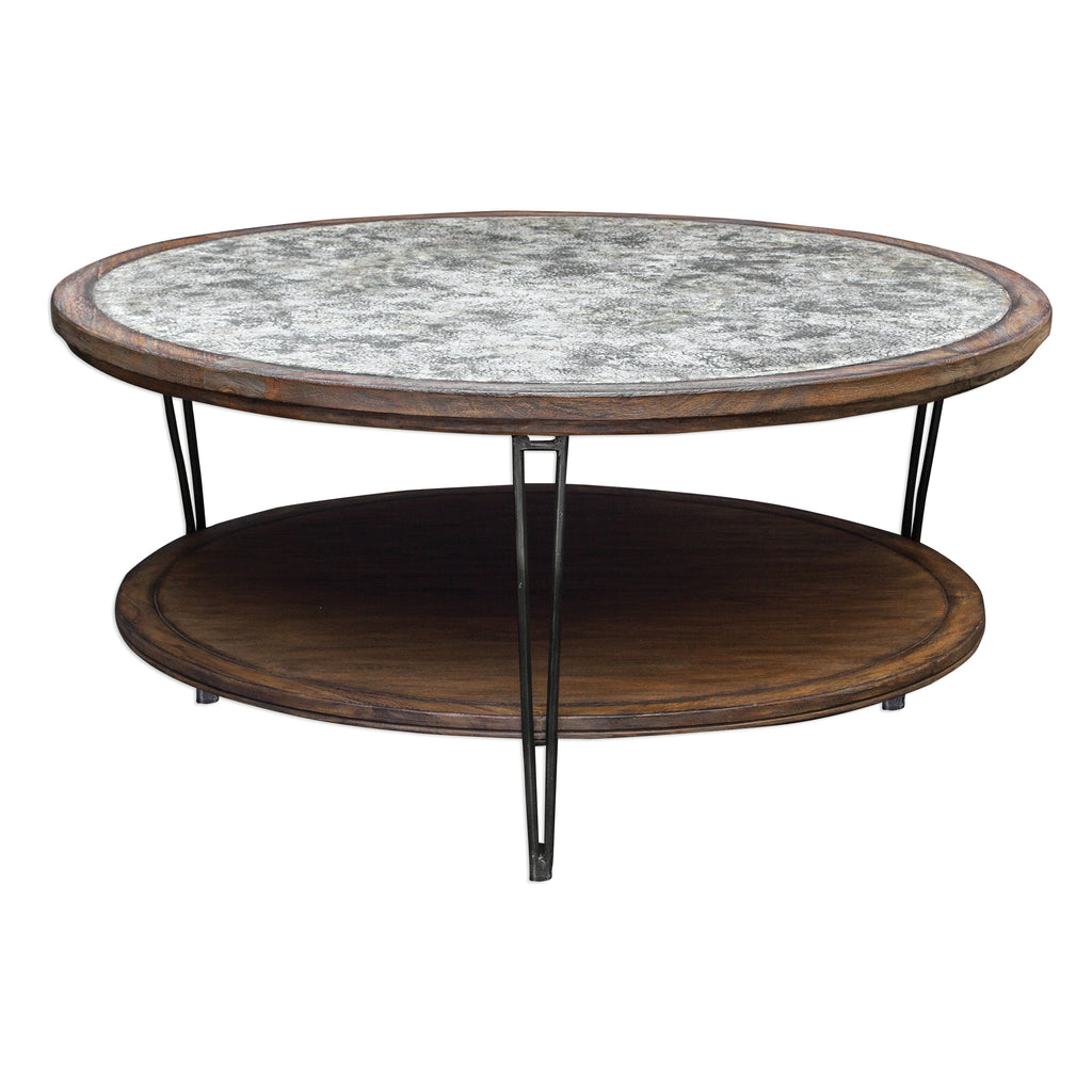 Saskia Rustic Coffee Table