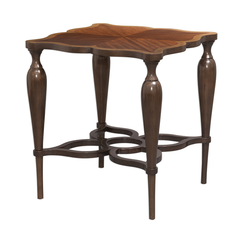 Varatella Kara Wood Accent Table
