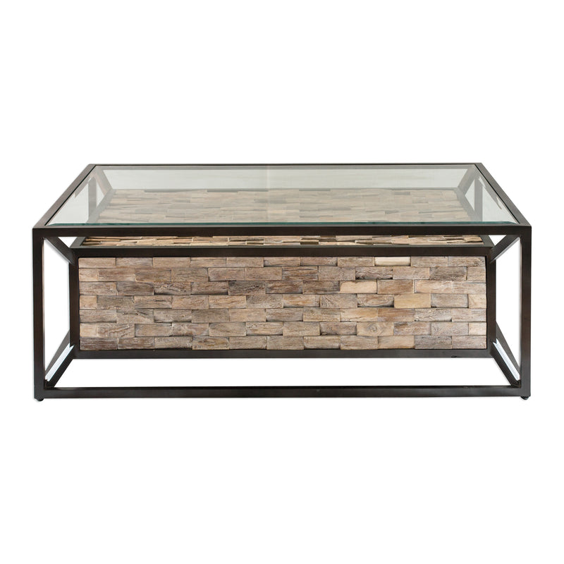 Kono Reclaimed Teak Coffee Table