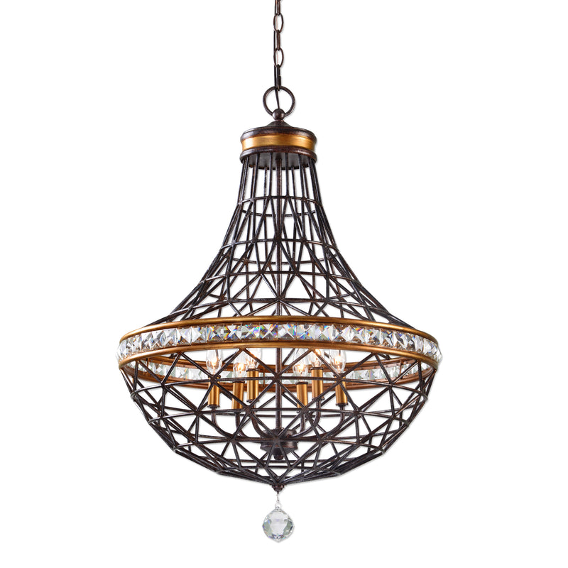 Cestino 6 Light Geometric Pendant