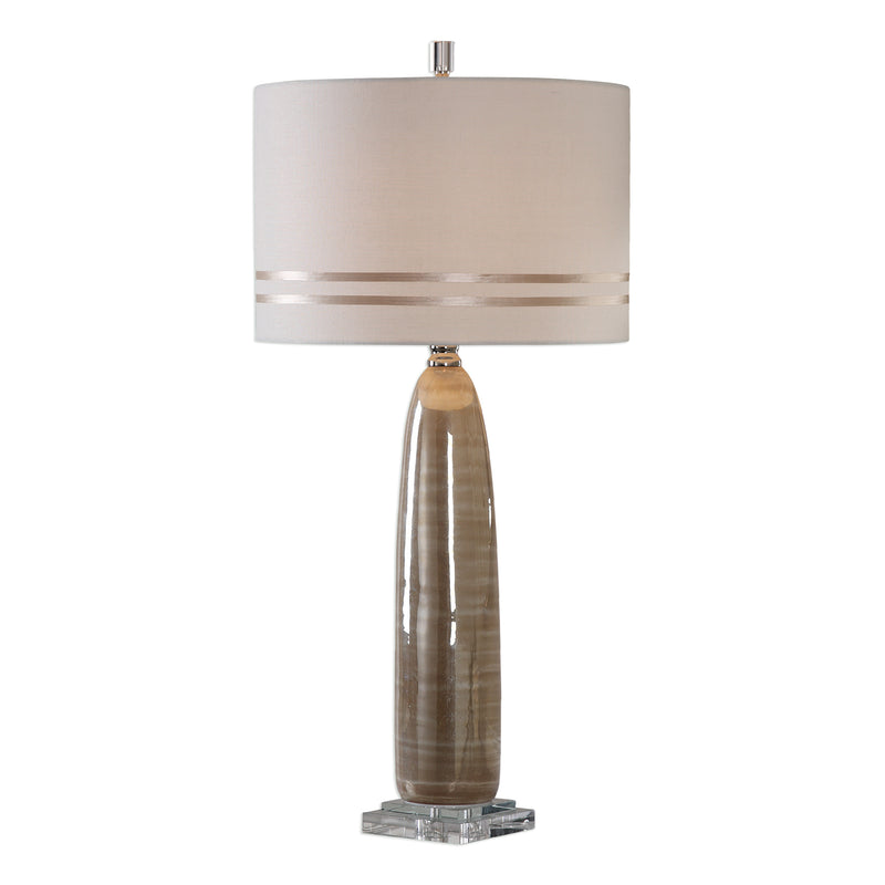 Dima Light Brown Ceramic Lamp
