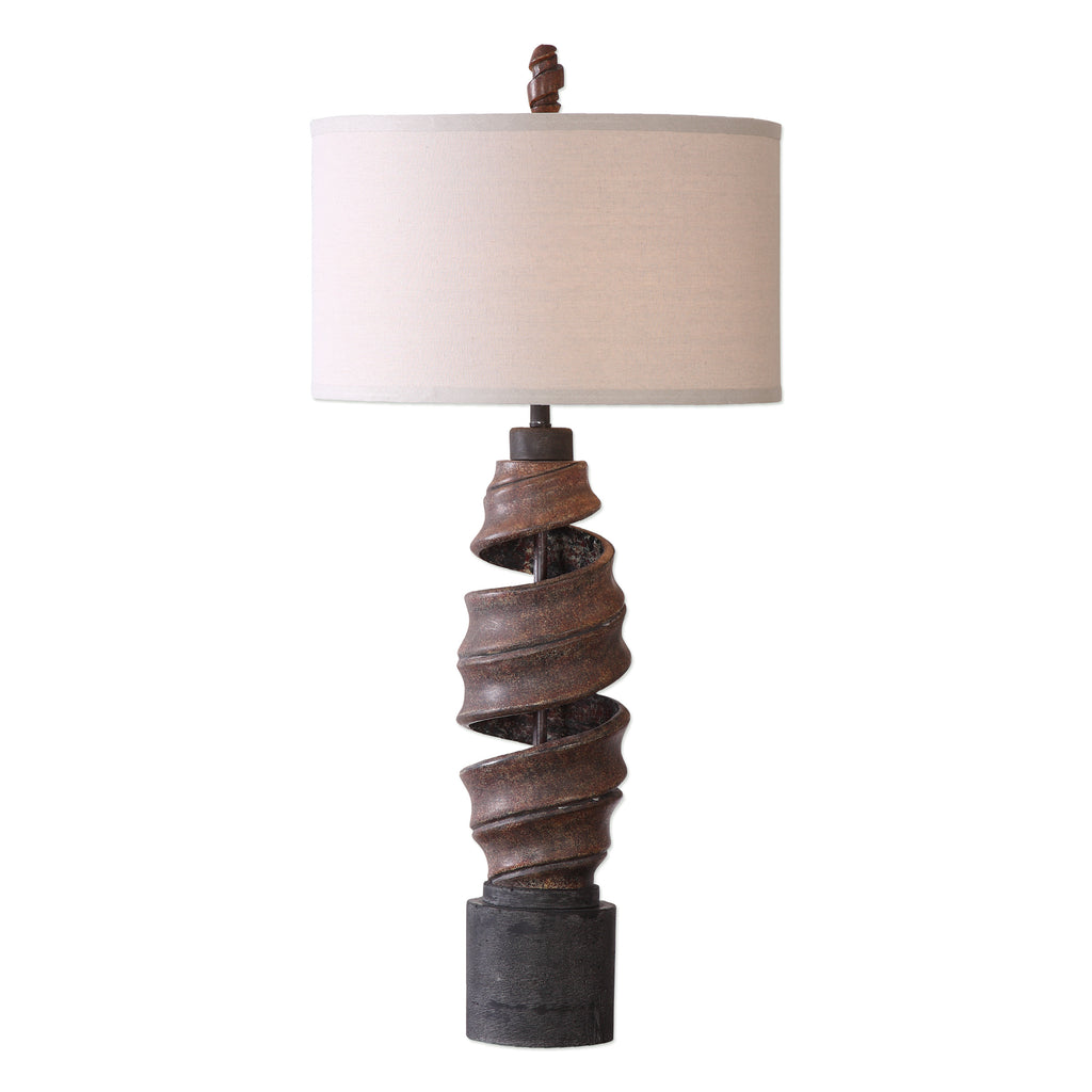 Abrose Twisted Table Lamp
