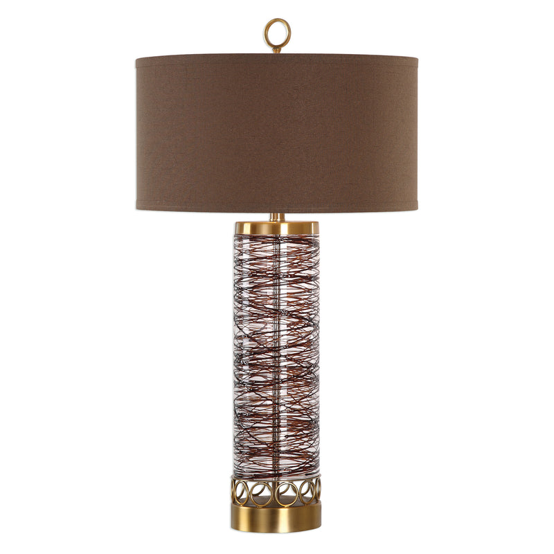 Seaver Spun Glass Table Lamp