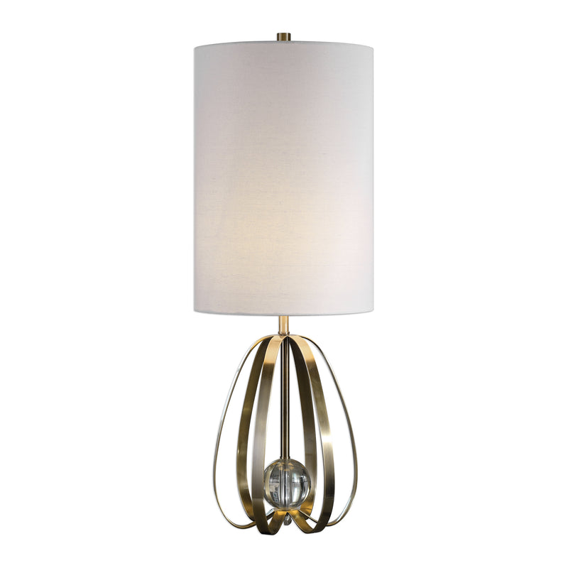 Avola Nickel Bands Lamp