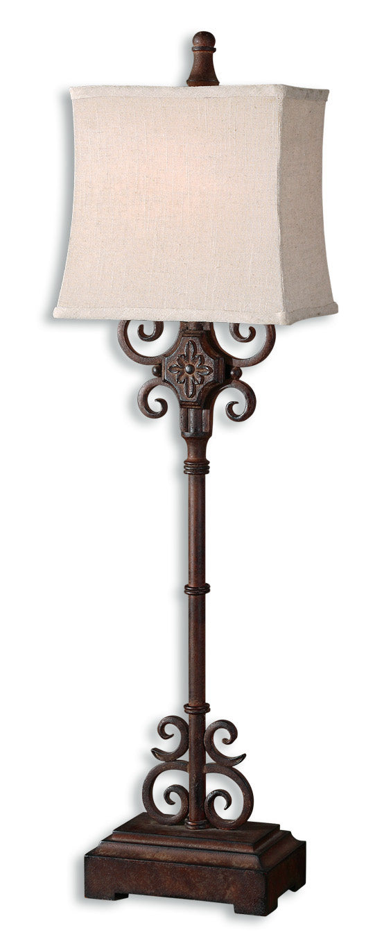 Cubero Brown Buffet Lamp