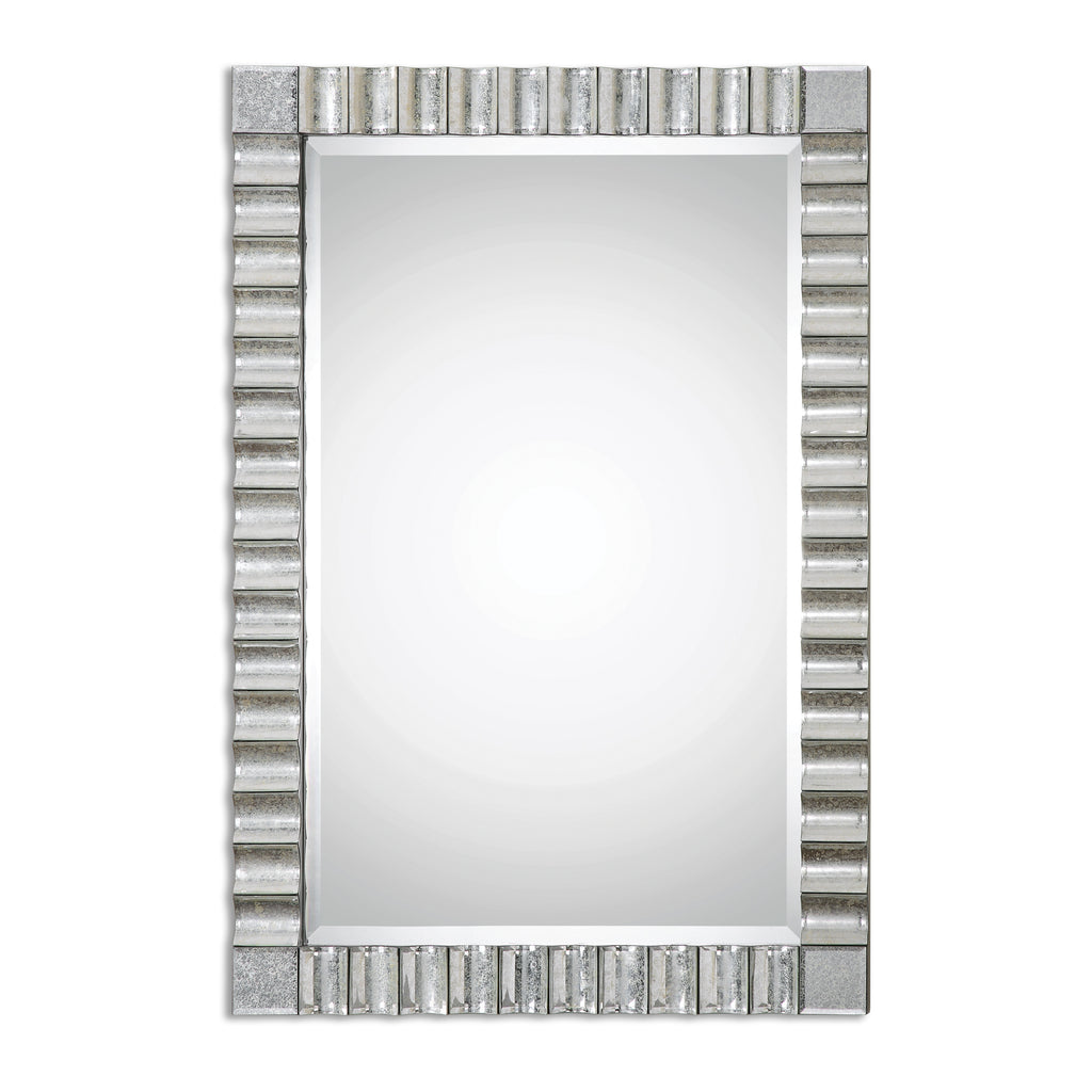 Amisos Scalloped Wall Mirror
