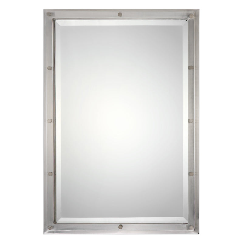 Manning Brushed Nickel Mirror