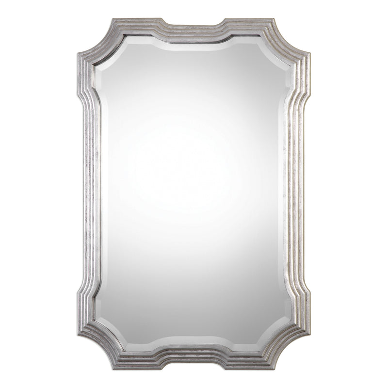 Halima Silver Step Mirror