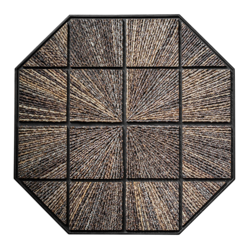 Bursting Forth Octagonal Wall Art