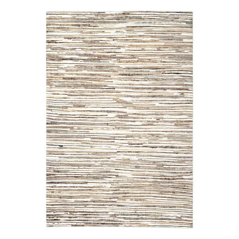 Riviera Ivory Brown 8 X 10 Rug