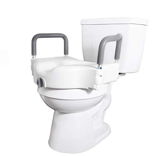 Groovy Medical Elevated Raised Toilet Seat And Commode Booster Seat Uwap Interior Chair Design Uwaporg