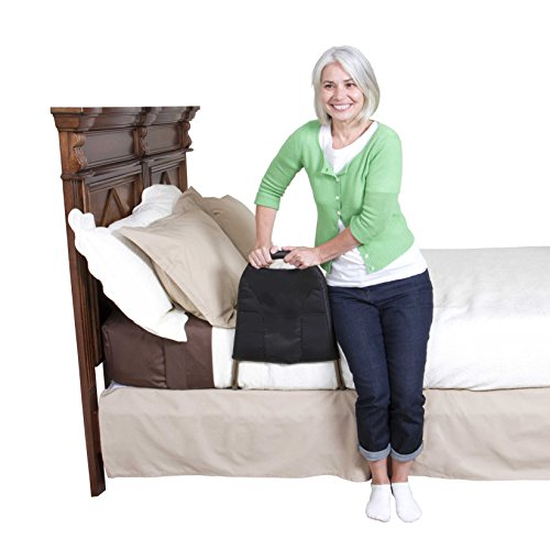 Able Life Bedside Mighty Bed Rail - Elderly Adult Mobility Bedside Safety Rail + Home Bed Support Handle + Travel Rail & Pouch