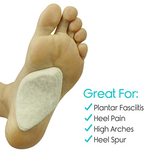 Arch Support Pads (6 Pairs) Adhesive Felt Foot Insert - Men Women