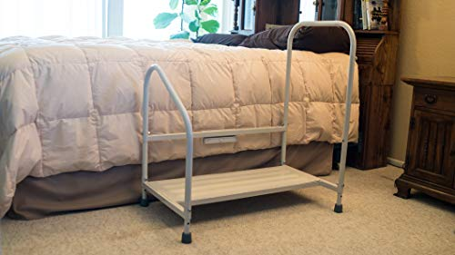Excellent Bed Hand Rail Adjustable Height Bed Step Stool With Led Light Cjindustries Chair Design For Home Cjindustriesco