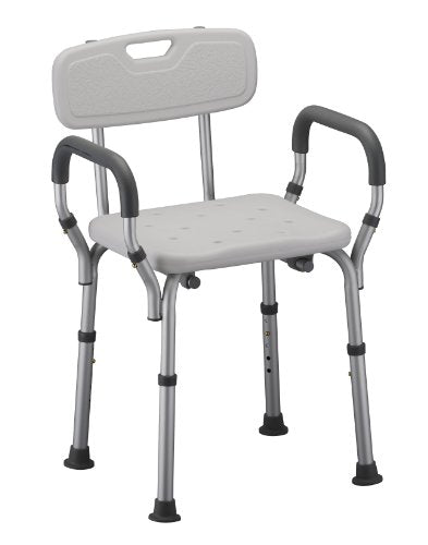 Deluxe Bath Seat with Back & Arms For Seniors Alzheimer's Dementia