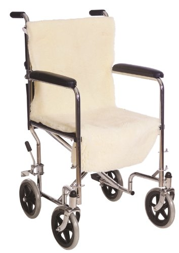 Wheel-Chair Seat and Back Pads For Seniors Injured Disabled