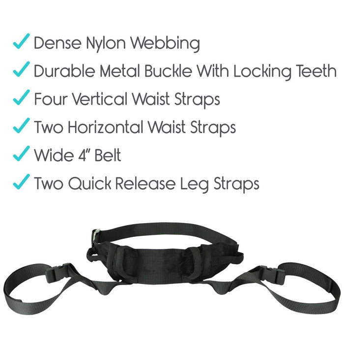 Long Strap and Quick Release Metal Buckle