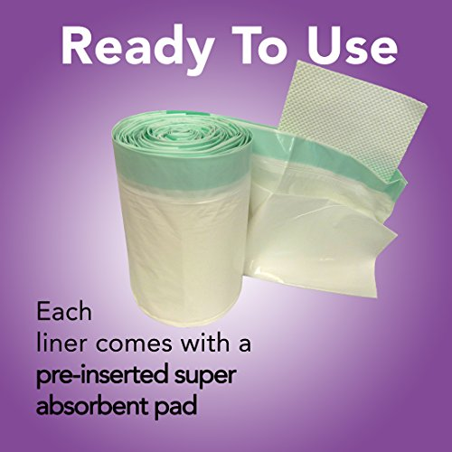 Disposable Commode Liner Absorbent Pad