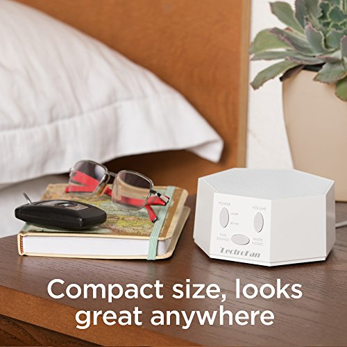 High Fidelity White Noise Machine with 20 Unique Non-Looping Fan and White Noise Sounds and Sleep Timer, FFP