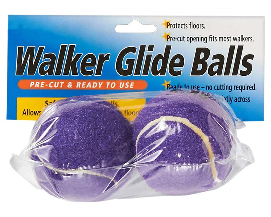 Walker Glide Balls - A Set of 2 Balls with Precut Opening for Easy Installation, Fit Most Walkers