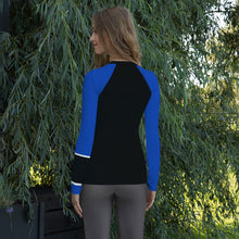 Posture Ranked Rash Guard Women | Blue