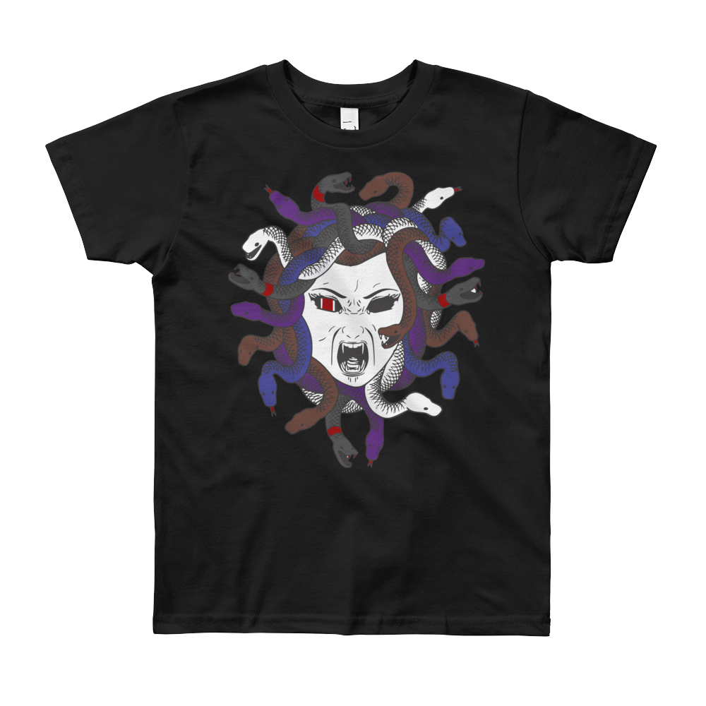 Medusa Youth Unisex Short Sleeve T-Shirt