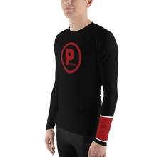Posture Ranked Rash Guard Men | Black