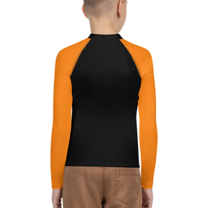 Posture Ranked Rash Guard Kids | Orange