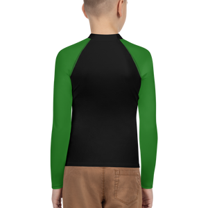 Posture Ranked Rash Guard Kids | Green