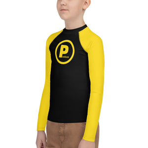Posture Ranked Rash Guard Kids | Yellow