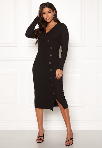NELLA 3/4 BUTTON DRESS