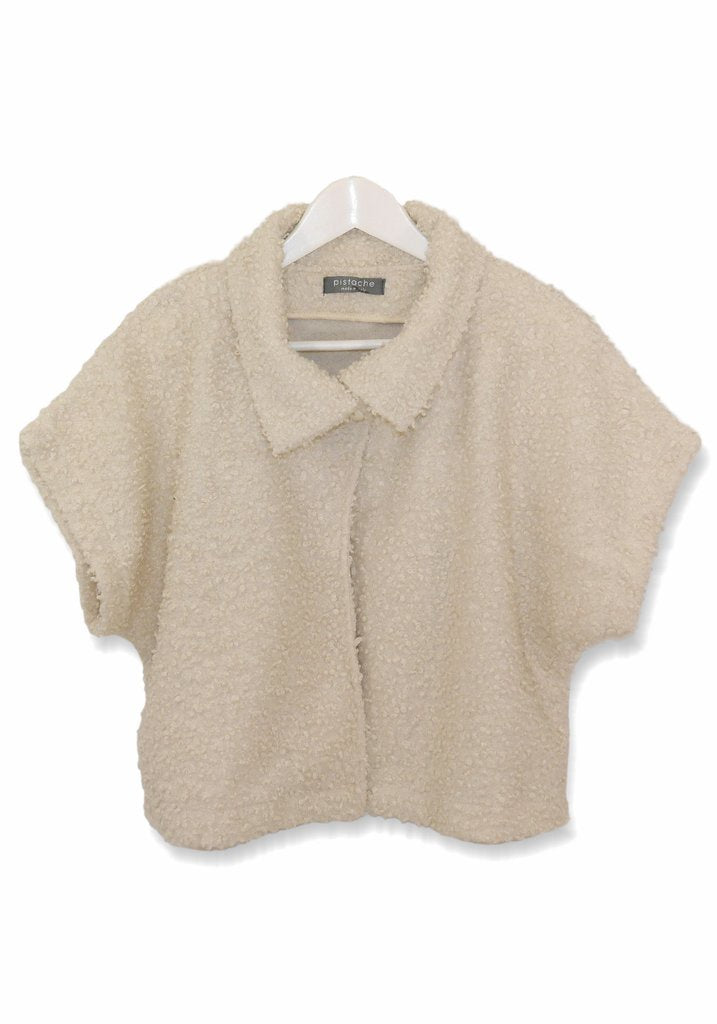 BOUCLE SHORT SLEEVE JACKET