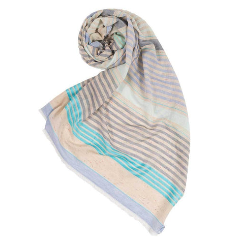 MIXED STRIPES SCARF