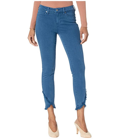 ABBY CROP SKINNY SCALLOP