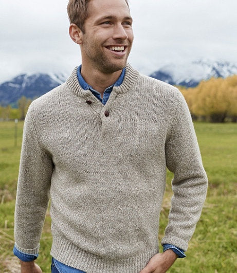 CLASSIC RAGG WOOL SWEATER