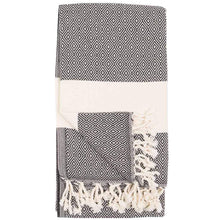 Load image into Gallery viewer, TURKISH TOWEL/SCARF DIAMOND