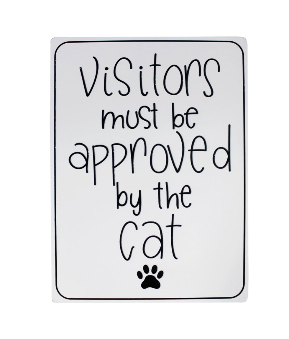 VISITORS APPROVED CAT