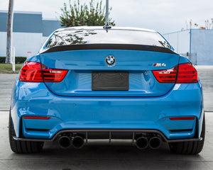 Agency Power BMW F82/ F83 M4 Aeroform Carbon Fiber Rear Diffuser