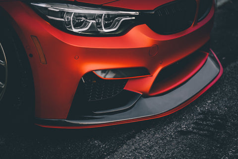 RSC Tuning Carbon Fiber Front Lip on 2018 BMW F80 M3
