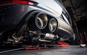 Agency Power Valvetronic Race Exhaust Polished Tips Porsche 991.2 Carrera 3.0T