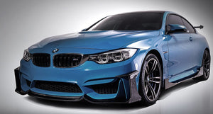 BMW M3 M4 Carbon Fiber Fang Type 1 Front Lip by Morph Auto Design