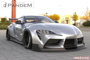 Pandem Full Wide Body Kit FRP w/ Wing Toyota Supra A90 20