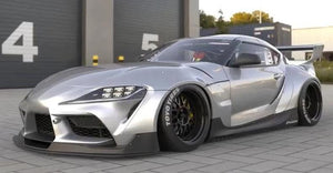 Pandem Rear Over Fenders FRP Toyota Supra A90 20