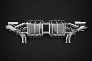 Audi R8 V10 PLUS (2015 ) & R8 V10 (2016 ) Capristo Valved Exhaust System