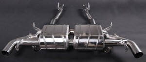 Aston Martin V12 Valved Exhaust System (No REMOTE)