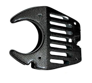 Ferrari 458 Carbon Fiber Bonnet Latch Cover