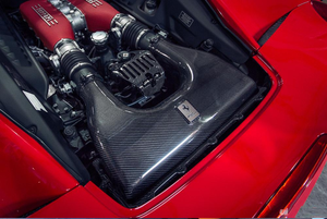 Agency Power Carbon Fiber Air Intake Box Ferrari 458 Italia 10-15