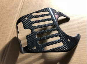 Agency Power Carbon Fiber Engine Lock Cover Ferrari 458 10-15 CLEARANCE